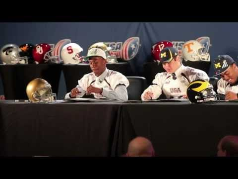 National Signing Day | Notre Dame | USA Football
