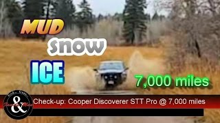 Here is an update on the Cooper Discoverer STT Pro tires I put on my RAM 1500 about one year ago. I have 7,000+ miles on them now and all is very well indeed.  This video describes my experiences and shows (measures) how these tires are wearing.