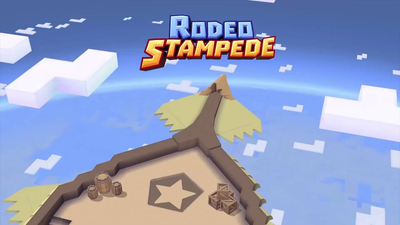 Ride a Flying Eagle in 'Rodeo Stampede' from the 'Skiiing Yeti Mountain' Developer