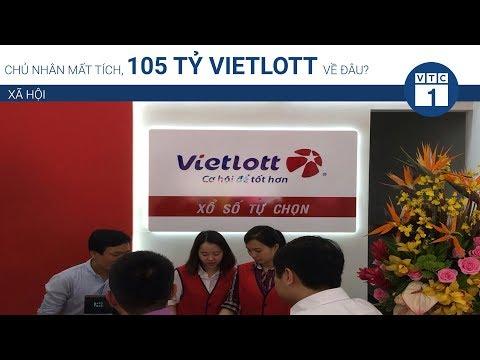 Chủ nhân mất tích, 105 tỷ Vietlott về đâu? | VTC1 - Thời lượng: 70 giây.