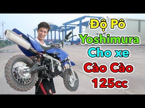Lâm Vlog - Độ Pô Yoshimura Cho Xe Cào Cào Mini 125cc | Cào Cào vs Yamaha R15 - Thời lượng: 10:18.
