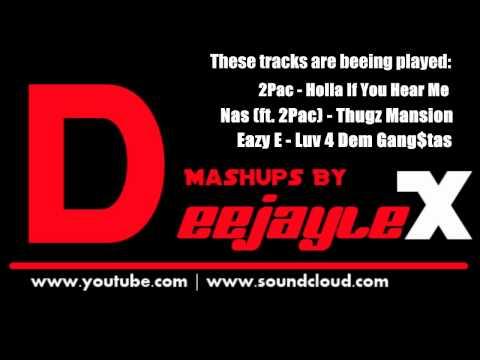 Black Eyed PEas ft. 2Pac, Eazy E - Like That (Hip Hop Mashup)
