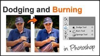 Dodge and Burn Photoshop
