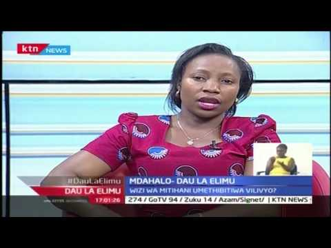 Dau La Elimu: Mitihani yaanza Sehemu ya kwanza 22/10/2016