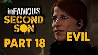 inFamous: Second Son Evil Walkthrough Part 18 - Kill Augustine - Evil&Expert Playthrough