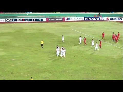 Hightlights | Lào 0-3 Việt Nam | Vòng Bảng AFF Suzuki Cup 2018 | BLV Quang Huy - Thời lượng: 2 phút, 25 giây.