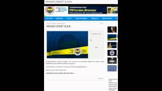 Unofficial Fenerbahce Widget YouTube video
