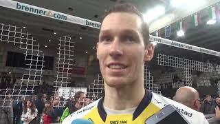 Itas Trentino-Modena Volley 3-1: intervista a Urnaut