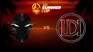 The Final Tribe против Let's Do It, Первая карта, BTS Summer Cup