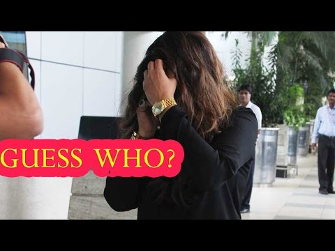 Guess Which Bollywood Actress Hides From Paparazzi