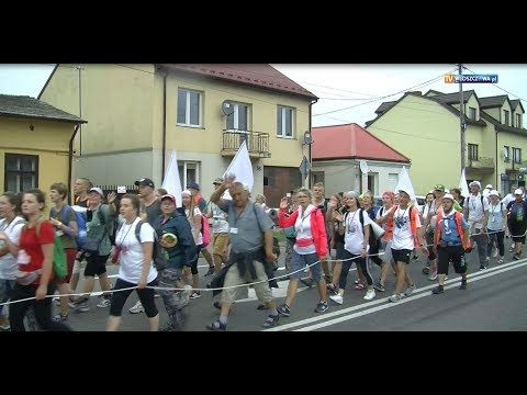 Kielecka Piesza Pielgrzymka zawitała do Włoszczowy