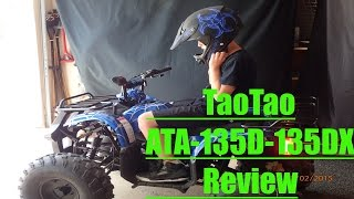 8. ATV-125cc -T135DX Tao Tao (Review)
