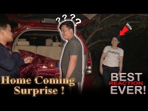 Misis na OFW umuwi ng Pinas para personal na sorpresahin si Mister 😱❤️ The Best Homecoming Surprise!