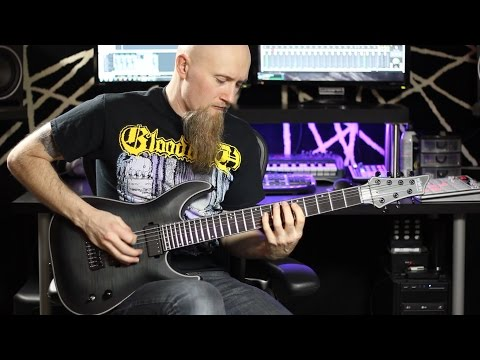 Schecter KM-7 demo, Vapor Trail and Nazgul/Sentient Pickups