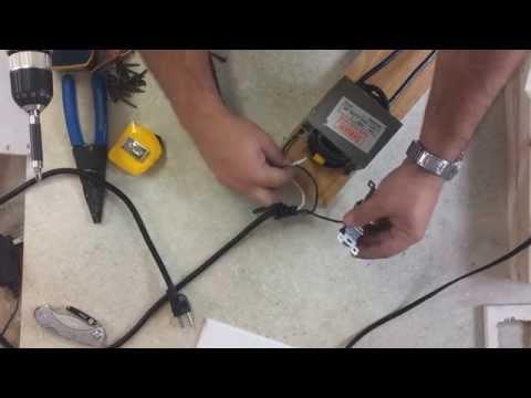 maquina de soldar casera - Como hacer un Soldador de Punto Casero con el transformador de un micro ondas, después de chequear y ver varios vídeos decidí hacer un soldador de punto.e aq...