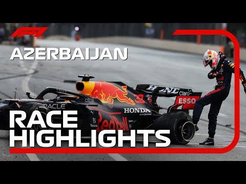 Race Highlights | 2021 Azerbaijan Grand Prix