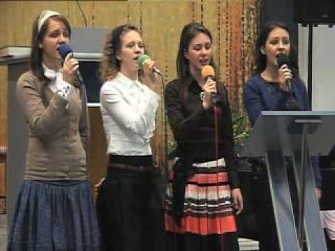 Surorile Onofrei - O de as avea eu limbi o mie (Biserica Penticostala Albini)
