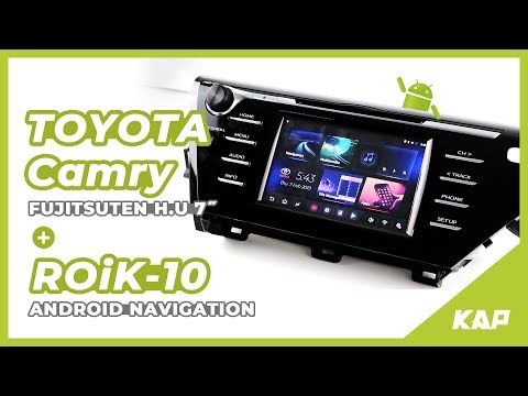 "TOYOTA CAMRY 2018~2019 Android Navigation (7"" / 8"" monitor)"