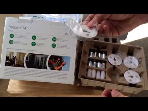 Arlo Smart Home Security Camera HD & Night-vision Unboxing 2-4-15