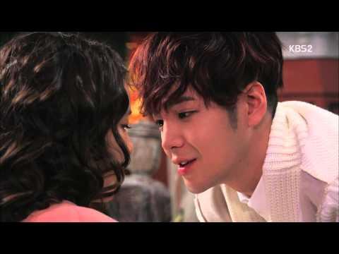 [예쁜남자] 장근석 일렉선녀와 코스(코뽀뽀) 20131204