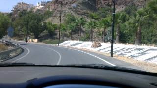 Finestrat Spain  City new picture : Driving in spain benidorm a finestrat nice landscape and mountains