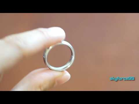 UNUStyle Stainless Steel Wedding Band Ring Review