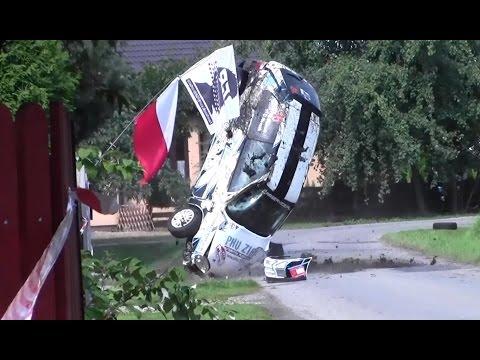 Rajd Oświęcimski 2014 | Wypadek Mrozek - Citroen Saxo