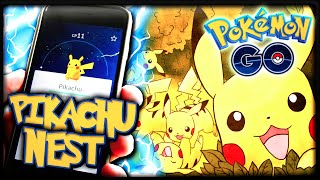 INSANE PIKACHU NEST & EPIC FAIL | POKEMON GO!