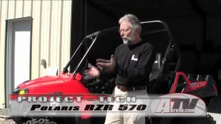 8. ATV Television - 2012 Polaris RZR 570 Project Part 1