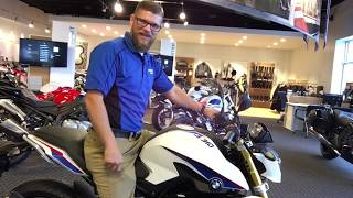 7. 1st 2018 BMW G310R Motorrad overview by Nate @ Frontline Eurosports