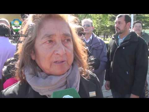Malvinas - Acto en Plaza Centenario