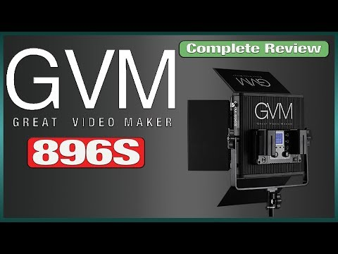 Great Video Maker 896 LED Complete Review