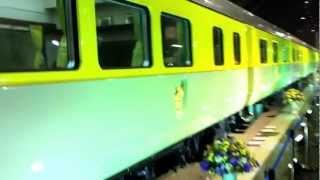 バンコク市内観光タイ鉄道の日・王室専用列車