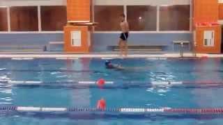 Соревнования по прикладному плаванию 2015 (видео №4)