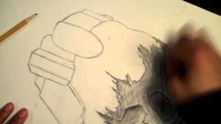 Drawing Halo Reach Emile