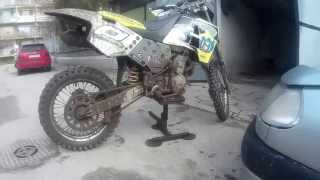 10. Husqvarna Tc 510 after riding