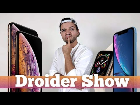 iPhone Xs ОБЗОР презентации iPhone Xs Max, iPhone Xr и Apple Watch 4 | Droider Show 383