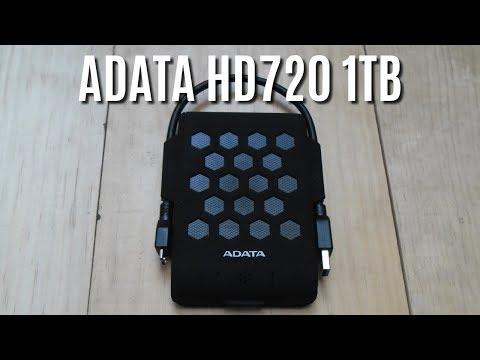 💾 Disco Duro Externo RESISTENTE al AGUA y las CAIDAS [Adata HD720][1TB]
