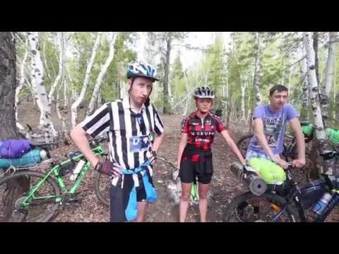 Велопутешествие по Казахстану.  350 км (видео)