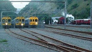Train cabride New Zealand. The second part: Pukerua Bay