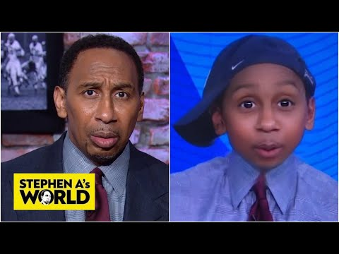 Baby Stephen A tries to take over Stephen A's World