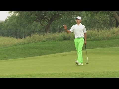 nelson - Chinese amateur Guan Tianlang missed the cut after he shot a 7-over 77 in the second round of the 2013 HP Byron Nelson Championship.