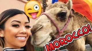 Hey guys! Nina, Janina, DeStorm, Don, and I got to travel to Morocco! We got to ride some ATVs (and a donkey), we went clubbing, and we got to meet a camel.