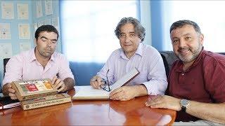 Ricardo Serrão Santos Deputado do Parlamento Europeu visita ilha de São Jorge