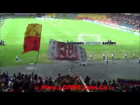 - Ind. Santa Fe Vs Liga de Loja - Copa Total Sudamericana 2015 - La Vuelta! - La Guardia Albi Roja Sur - Independiente Santa Fe