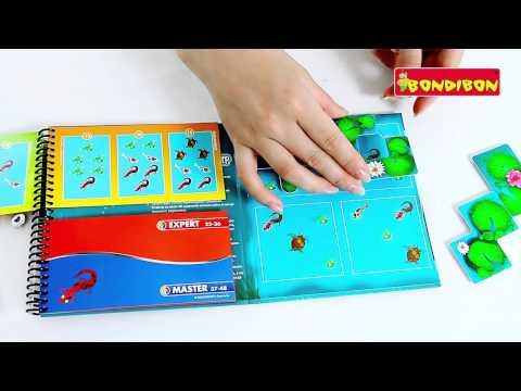 Видео - Подводный мир (магнитная головоломка)