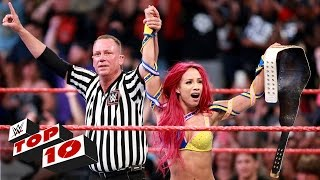 Top 10 Raw Moments  Wwe Top 10  July 25  2016