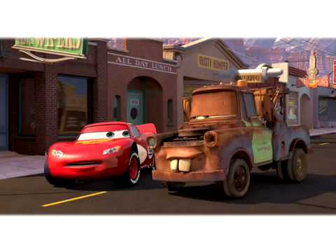 Cars - Mater saves the day.