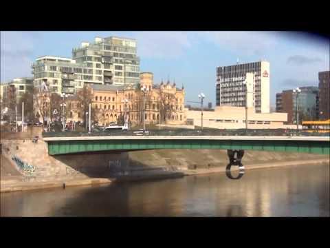 Зелёный мост в Вильнюсе. Весна 2015 года