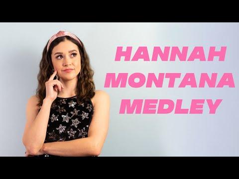 Hannah Montana/Miley Cyrus Medley